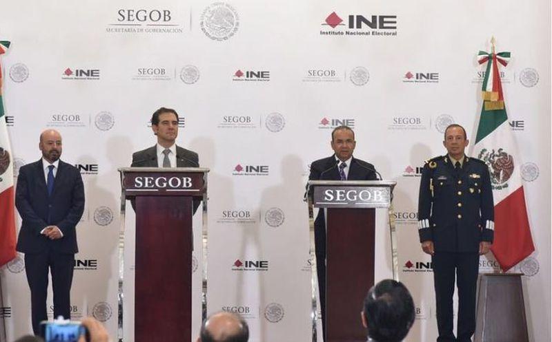 El INE estableció un protocolo, mismo que los candidatos pueden solicitar. (Internet)