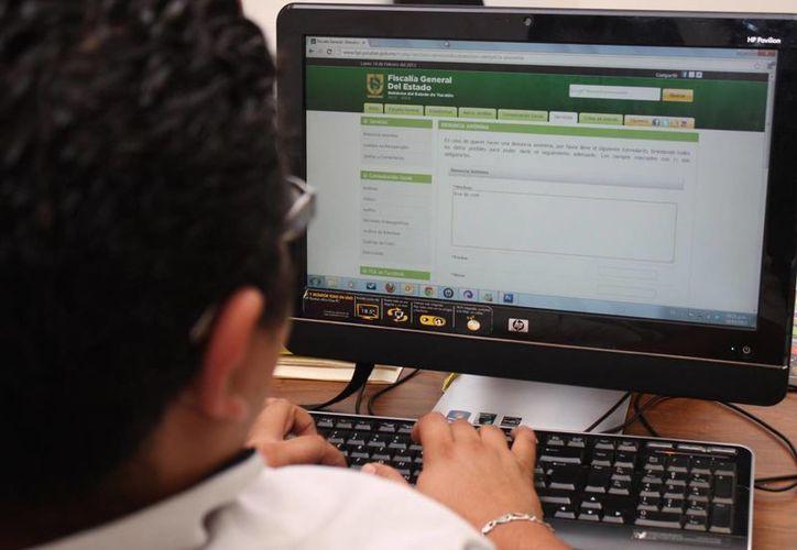 Las denuncias anónimas las recibe la FGE en su página de internet. (SIPSE)