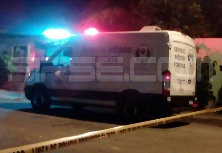 El hallazgo del cadáver se presentó en las últimas horas de este lunes en la colonia Melchor Ocampo. (Carlos Navarrete/SIPSE)