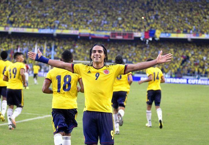 Bandas organizadas (50%), ladronzuelos (30%) y hasta empleados de almacenes y tiendas (15%) son responsables de los robos de camisetas de la Selección de Colombia. En la foto, el goleador Radamel Falcao. (fcf.com.co)
