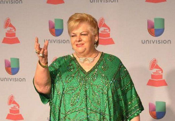 """En el concierto que Paquita """"la del barrio"""" ofreció en el Teatro Nokia cantó con su grupo norteño y con mariachi más de 30 de sus temas. (Archivo Notimex)"""