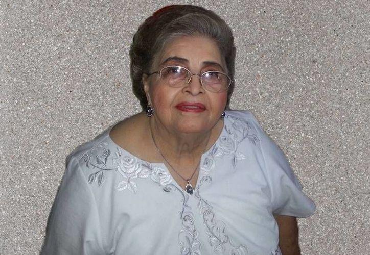 La señora Irma Elena Castillo Priego era una conocida dama progreseña. (SIPSE)