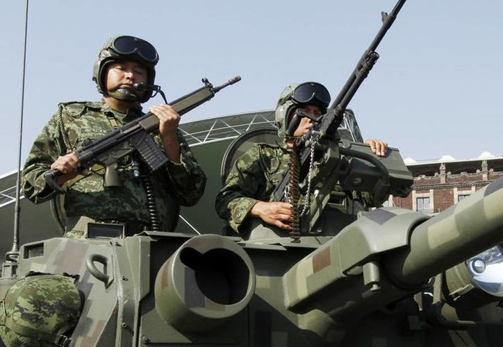 Militares en la Ciudad de México, donde hay mucha presencia de cárteles de todo el país. (Archivo/Notimex)