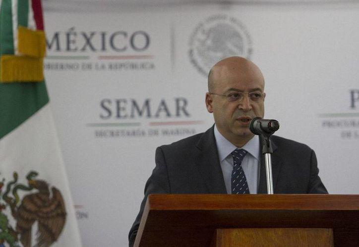 Renato Sales Heredia, titular de la Comisión Nacional de Seguridad (CNS), negó que se hayan violado los derechos humanos de Joaquín Guzmán Loera en el penal del Altiplano, en el Estado de México. (Notimex/archivo)