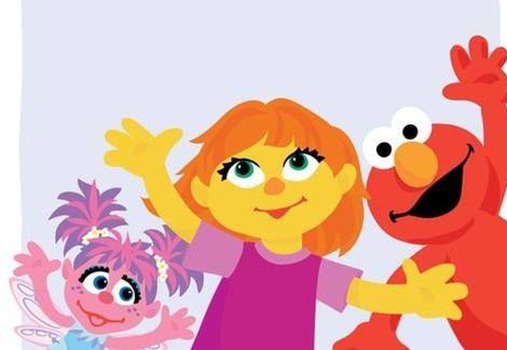 Julia (c) es un nuevo personaje de Plaza Sésamo. Padece autismo. (Sesame Workshop)