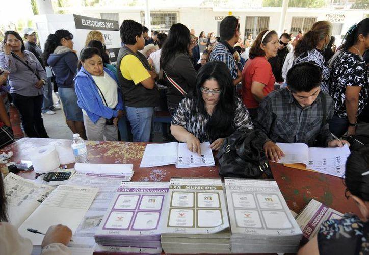 El PRI negó incidentes durante la elección en Veracruz. (Notimex)