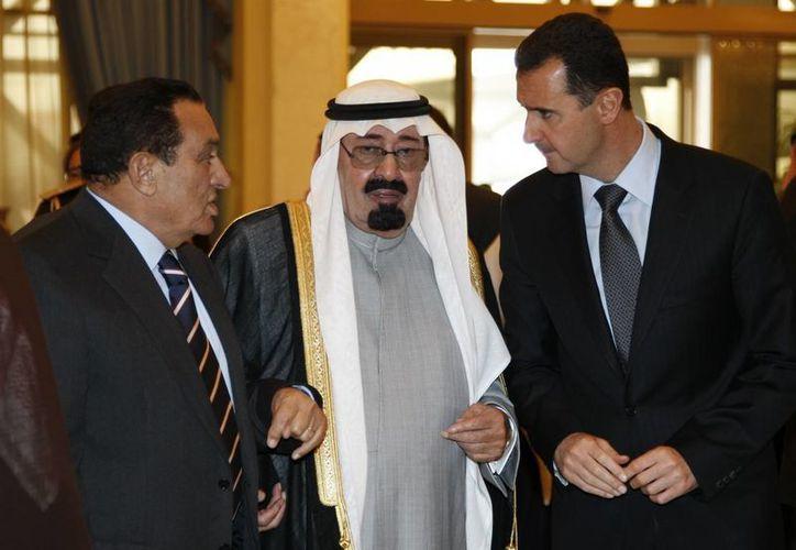 El monarca saudí falleció a la edad de 90 años. (AP)