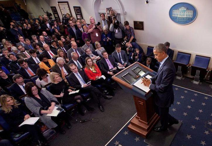 El presidente Obama se negó a hacer pública las evidencias que existen sobre la intromisión de Rusia en las presidenciales estadounidenses. (AP/Pablo Martinez Monsivais)