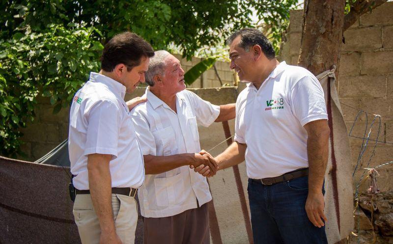 Ambos candidatos hicieron un compromiso para que el Ayuntamiento de Mérida se sume a la propuesta del próximo gobierno del estado que impulsará una política integral de vivienda. (Milenio Novedades)