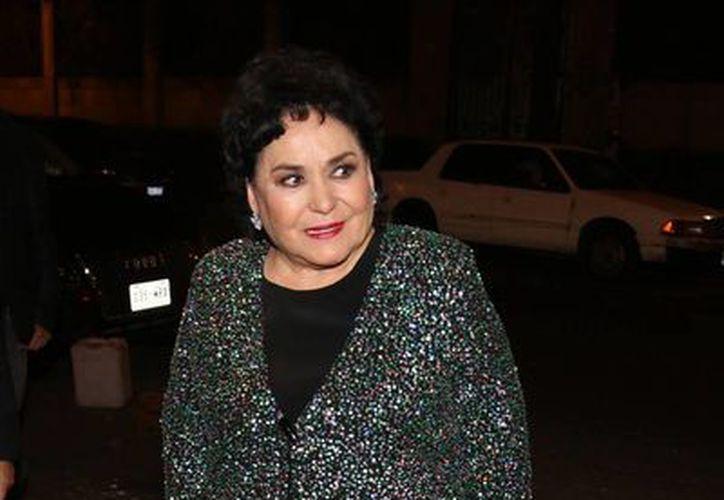 Carmen Salinas afirma que en 16 años que tiene la obra jamás se incumplió con los compromisos. (Notimex)