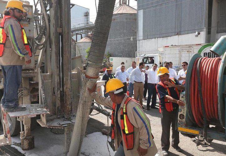 Este martes iniciaron las obras de mejoramiento integral de los servicios públicos de Ciudad Industrial. (Cortesía)