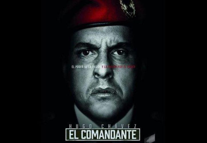 Andrés Parra es protagonista de la serie 'El comandante', la cual contará fragmentos de la vida del expresidente de Venezuela, Hugo Chávez. (TNT)