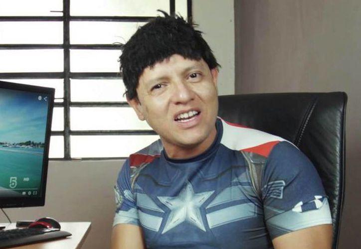 """Ismael Salazar, da vida a """"Mactá"""" en la obra cómica. (Redacción/SIPSE)"""
