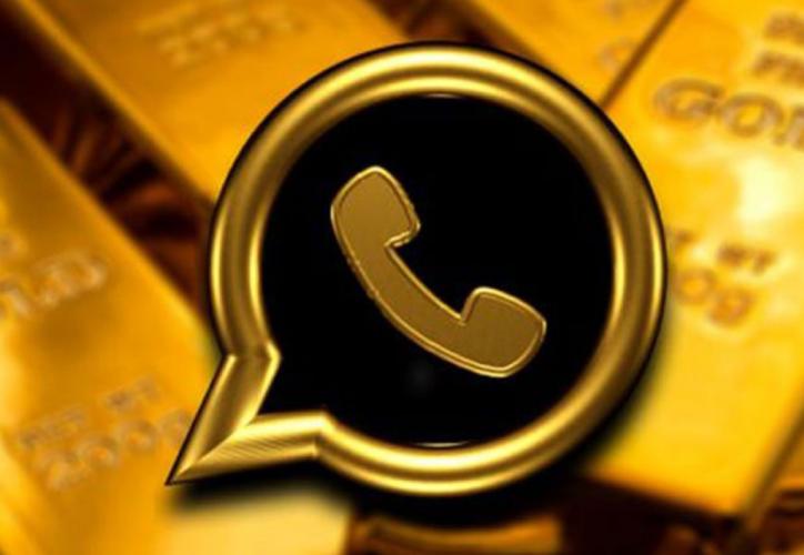 WhatsApp Gold, es la supuesta aplicación Premium de la plataforma de mensajería. (Internet)