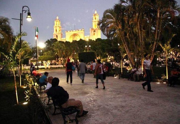 Más de 150 mil visitantes han llegado para esta temporada vacacional a Mérida. (Milenio Novedades/ Archivo)