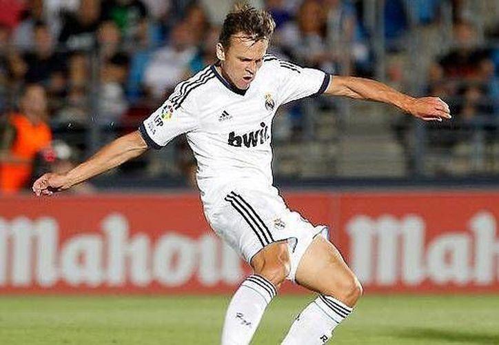 Denís Chéryshev se convirtió en el primer jugador ruso en militar en el Real Madrid. (ABC)