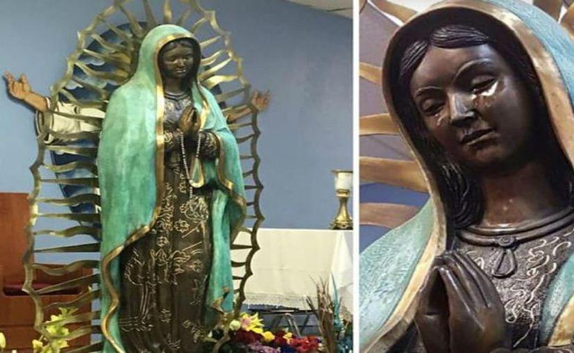 La imagen ha atraído a un mayor número de fieles a la pequeña iglesia, aunque los sacerdotes aún investigan el caso. (Internet)