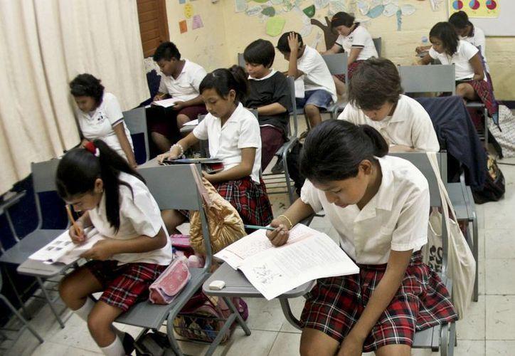 En mayo se aplicará la prueba piloto de PISA 2015 en los estados de Campeche, Baja California y el Distrito Federal. (Archivo/SIPSE)