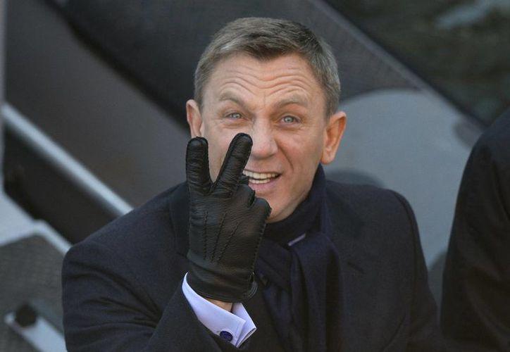 Daniel Craig dejó México el sábado pasado tras finalizar las escenas rodadas en la capital mexicana. (Archivo/AP)
