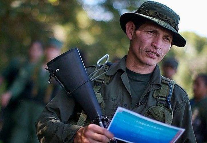 Comandante de las FARC. (elfinanciero.com.)