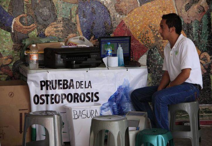 El IQM está en espera de la aprobación del programa de detección oportuna de osteoporosis, el cual se llevó a cabo en 2012 con éxito. (Harold Alcocer/SIPSE)