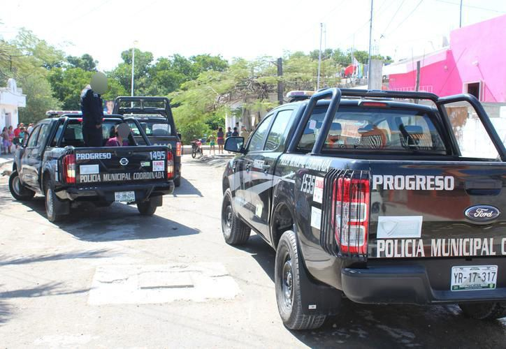 Policías de Progreso son investigados por homicidio calificado. (Imágenes de archivo/SIPSE)