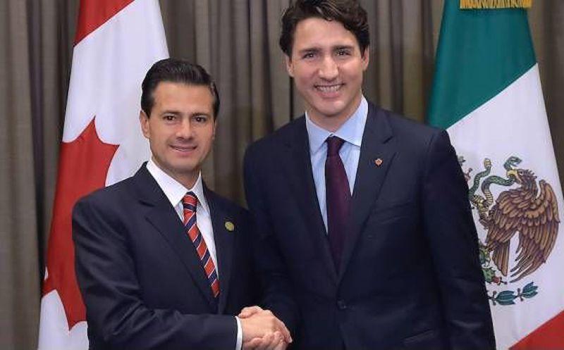 Trudeau llegará a México para hablar con Peña del TLCAN