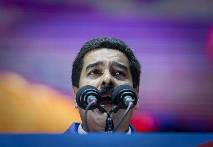 Maduro enfrenta un alza incontrolable de la inflación en el país. (EFE)