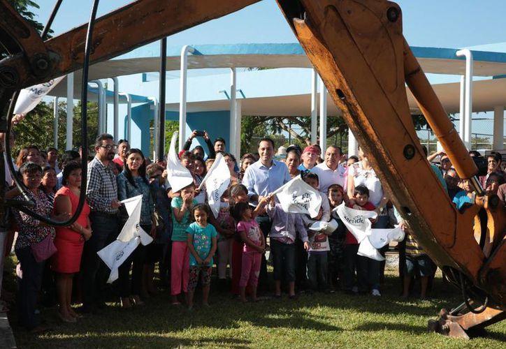 La recaudación predial del Ayuntamiento de Mérida se traduce, entre otras cosas, en obras y servicios a los meridanos.  (Foto cortesía)