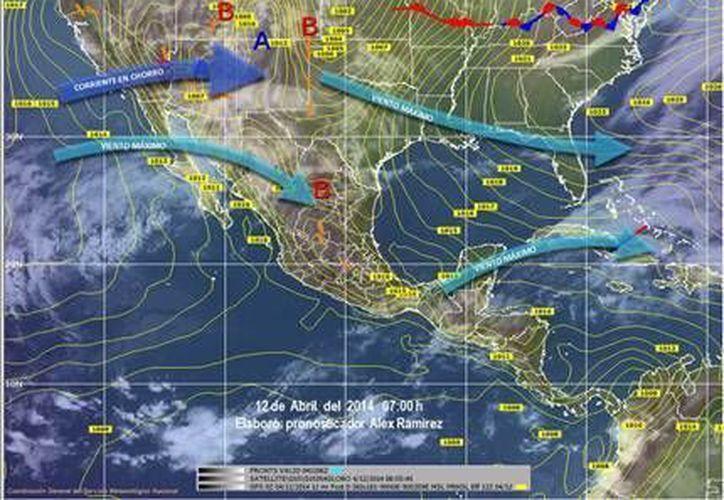 La Conagua informó que se esperan temperaturas cálidas para el domingo. (Redacción/SIPSE)