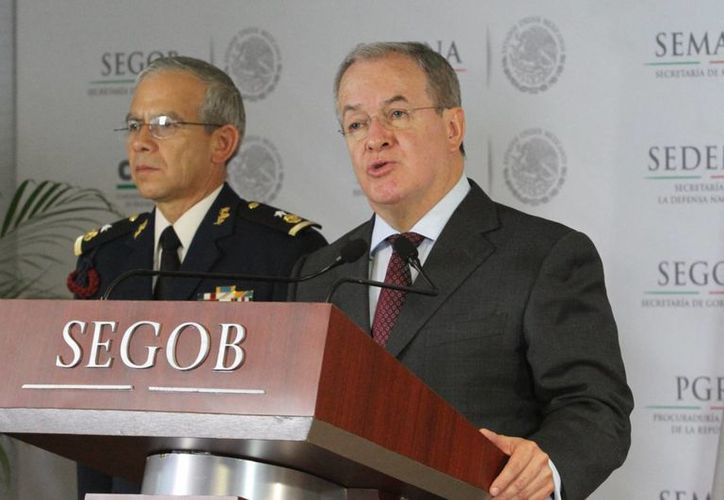 Monte Alejandro Rubido indicó que en lo que va de la administración de Peña Nieto 'no ha habido una estructura criminal que no haya sido golpeada'. (Notimex)