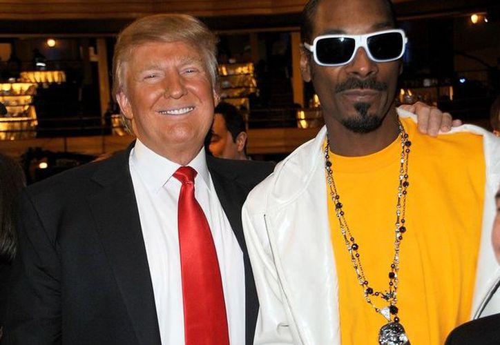 """En el mencionado clip de la canción """"Lavender"""" del cantante  aparece un Trump disfrazado de payaso. (Agencia/ Contexto)"""