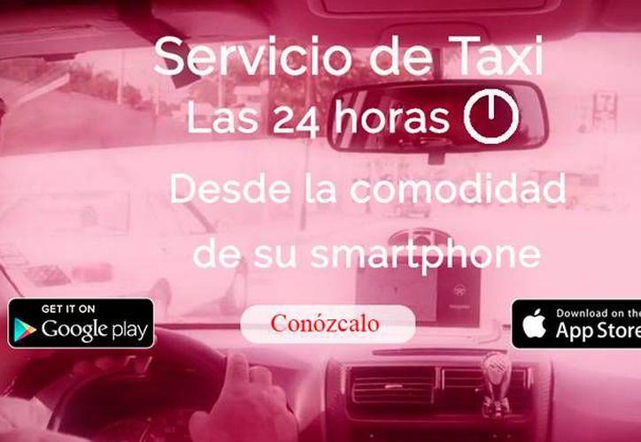 Las empresas yucatecas que prestan el servicio de transportación, y que se contratan vía apps móviles, tienen muchas opiniones negativas entre los usuarios. (Captura de pantalla/página web mitaxiyuc.com)