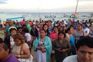 Inician festejos a la Virgen de la Asunción poderosa de Chicxulub puerto