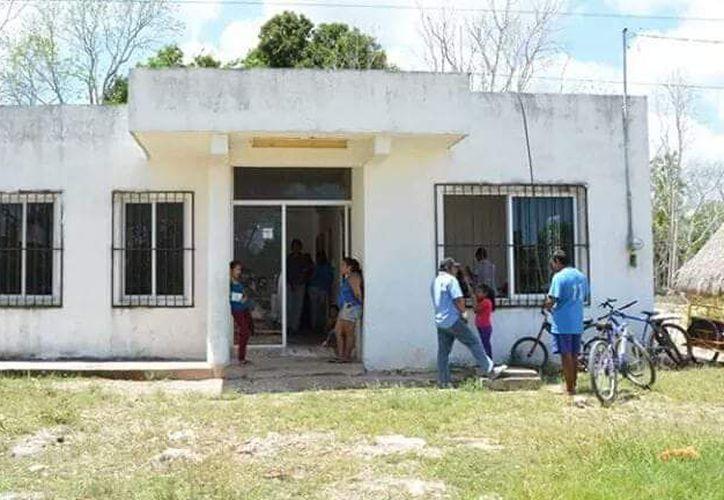 El presunto responsable fue detenido por vecinos y después entregado a las autoridades correspondientes. (Foto: Redacción/SIPSE)