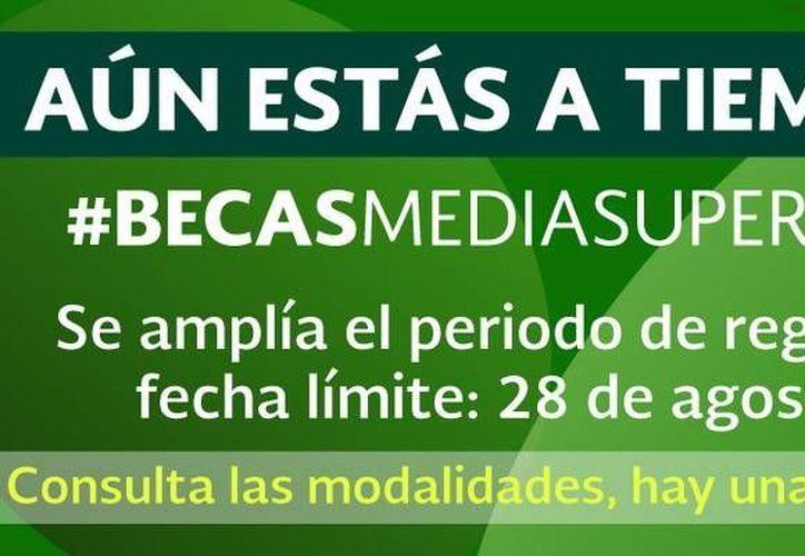 El plazo para solicitud de becas se extendió hasta el día 28 de agosto en Quintana Roo. (Redacción/SIPSE)