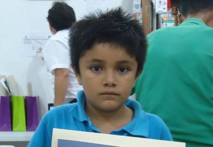 Paul Rosales Campos está clasificado entre los 10 mejores ajedrecistas del país en la categoría sub 8. (SIPSE)