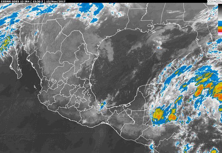 Para hoy se espera la formación de tormentas. (Conagua)