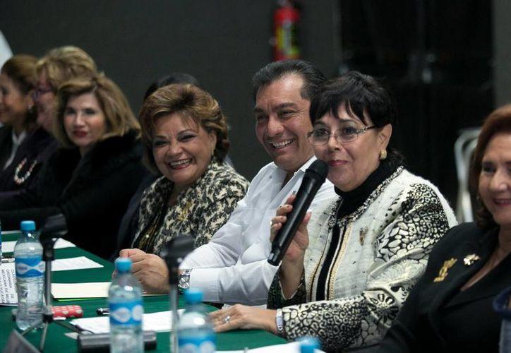 El Secretario de Gobierno acudió a la asamblea de mujeres empresarias en Mérida. (Milenio Novedades)