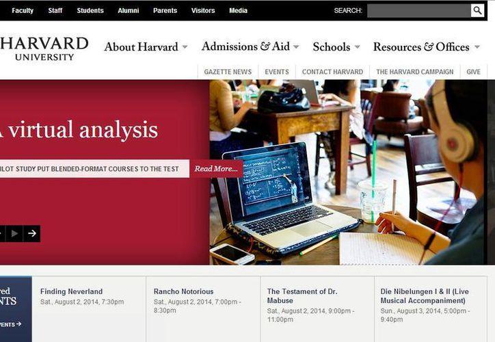 La prestigiosa Universidad de Harvard ofrece varios cursos en línea que puedes tomar de manera gratuita. (harvard.edu)