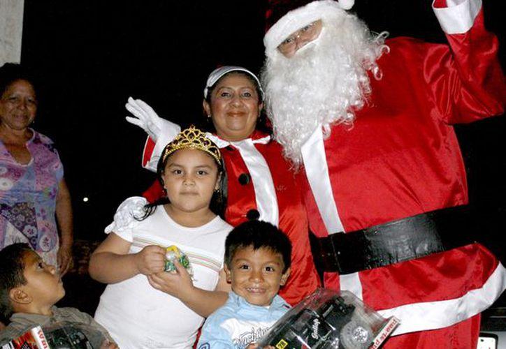 René Lira Morales convivió con los pequeños Jesús Daniel, David Azael y Cristel Guadalupe. (Theani Ruz/SIPSE)