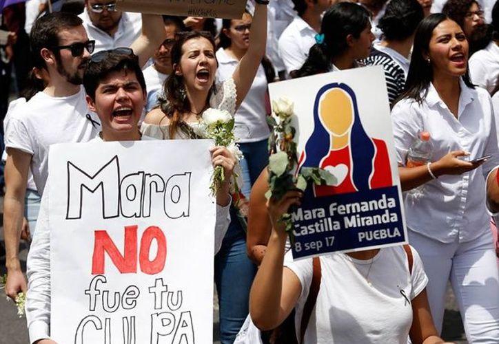 CNDH refirió que las defunciones por homicidio de mujeres en esa cantidad han aumentado desde 2013. (Excelsior)
