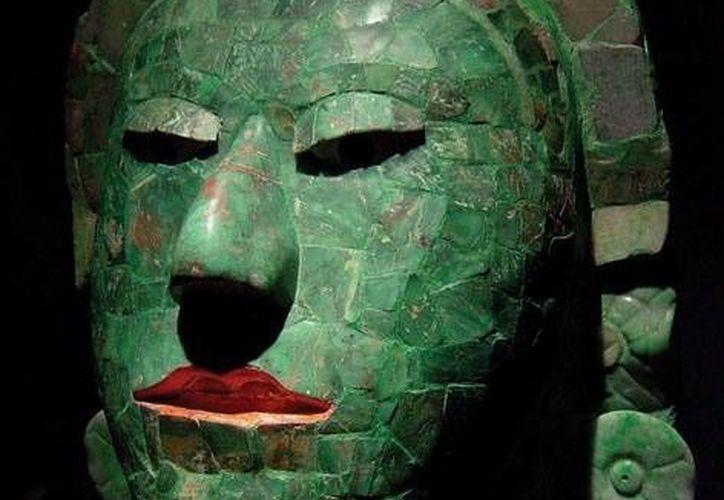 Las máscaras de jade, de la cultura maya, forman parte del arte de la humanidad. (Foto/Intrernet)