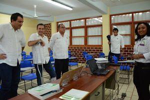 Inaugura Cecyte nuevas obras en dos planteles de Cancún