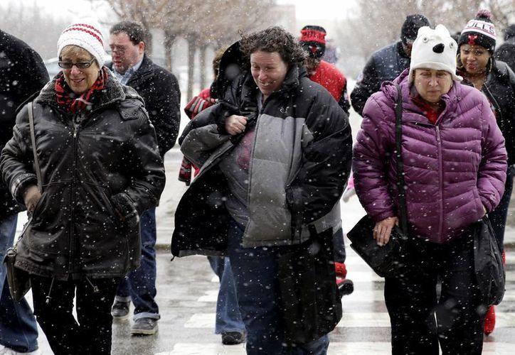 La tormenta invernal 'Juno' causará estragos en la zona noroeste de Estados Unidos. (AP)