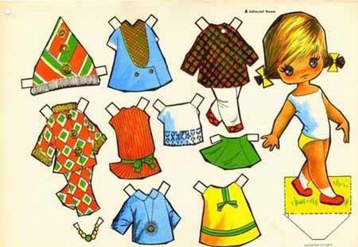 La muñeca de papel formará parte de la exhibición de juguetes mexicanos. (planetaninas.com )