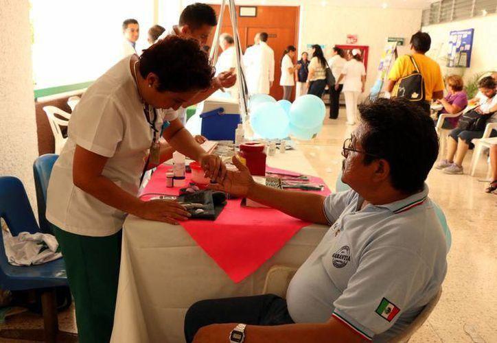 Si el paciente se apega a su tratamiento, la diabetes mellitus es controlable. (Foto: Contexto/SIPSE)