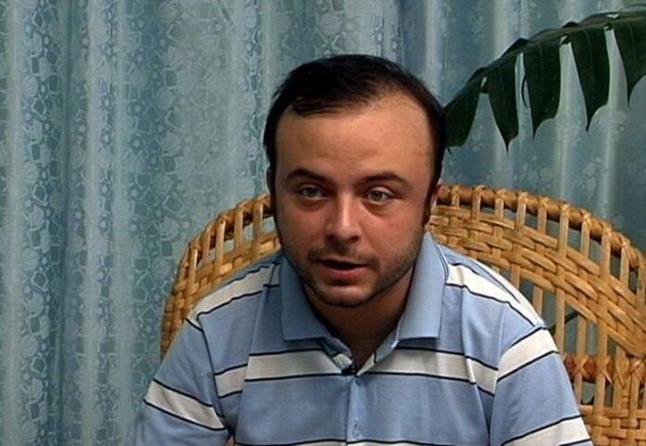 Imagen tomada de un vídeo y suministrada por el Gobierno cubano el 30 de julio de 2012, en la que aparece el español Ángel Carromero. (EFE/Archivo)