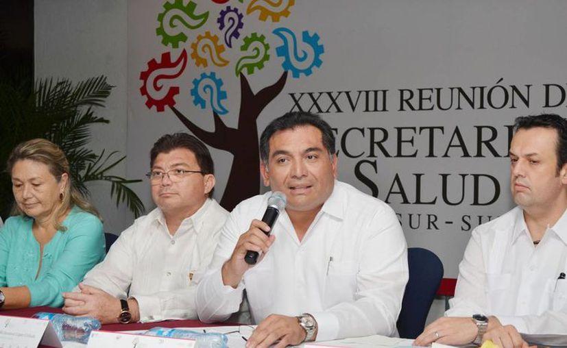 Caballero Durán dijo que el Gobierno estatal impulsará firmemente acciones de salud. (Cortesía)