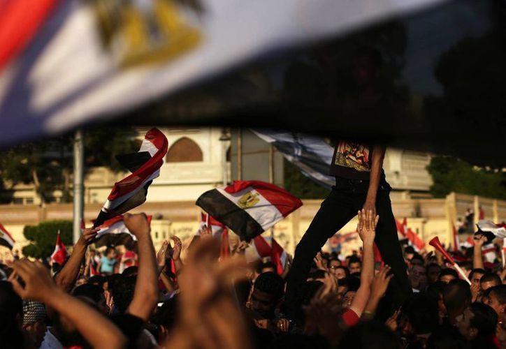 Continúan las protestas contra Mursi. (Agencias)